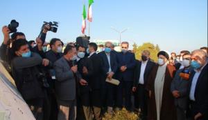بازدید رئیسجمهور از شرکت کشتوصنعت مغان