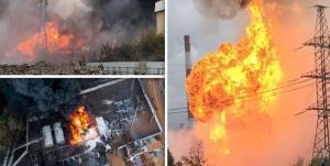 آتشسوزی و انفجار در کارخانه مواد شیمیایی روسیه با ۱۶ کشته