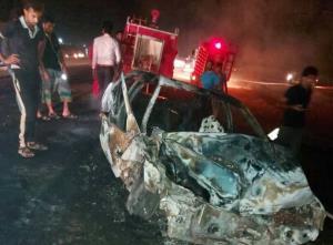 ۶ نفر در تصادفات برون شهری هرمزگان جان خود را از دست دادند