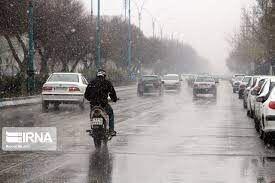 بارشهای پراکنده در آذربایجانغربی ادامه دارد