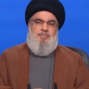 موضع گیری سید حسن نصرالله درباره مذاکرات لبنان با رژیم صهیونیستی درباره مرزهای دریایی
