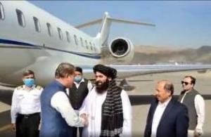 دیدار وزیر خارجه پاکستان در کابل با مقامات طالبان
