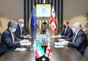 دیدار رئیس سرویس امنیت کشور گرجستان و سفیر ایران