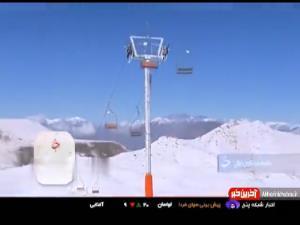 بارش اولین برف پاییزی در ارتفاعات تهران و حال و هوای مردم