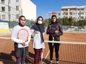۴ تنیسور برتر مرحله نیمه نهایی در البرز مشخص شدند