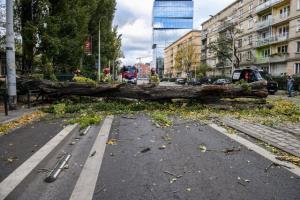 طوفان در لهستان قربانی گرفت