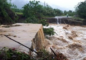 سیلاب جان ۲ نفر را در استان گیلان گرفت