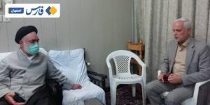 شهردار اصفهان با آیتالله مهدوی دیدار کرد