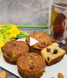 یک شیرینی عالی بدون آرد و شکر!
