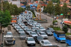 ترافیک نیمه سنگین در اکثر محورهای شمالی