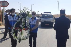 سومین مدافع سلامت در استان همدان آسمانی شد
