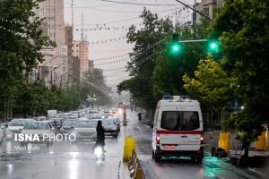 رگبار باران در نقاط مختلف کشور