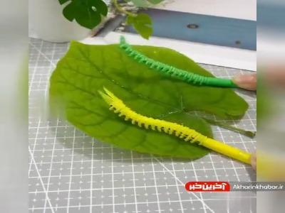 ایده ای ساده و جذاب برای ساخت اسباب بازی