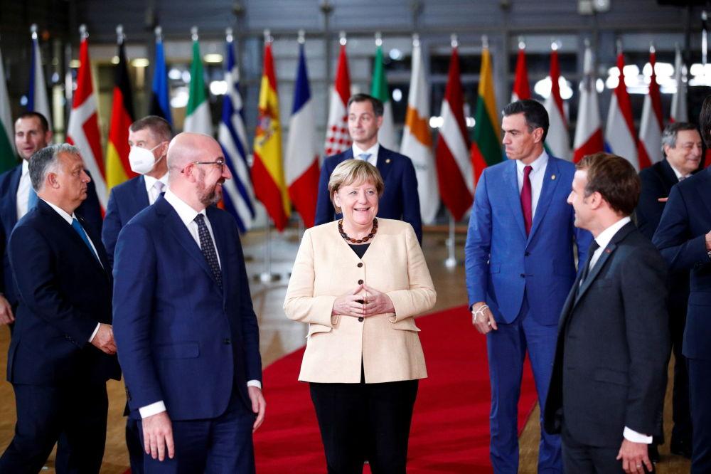 اجلاس رهبران اتحادیه اروپا در بروکسل