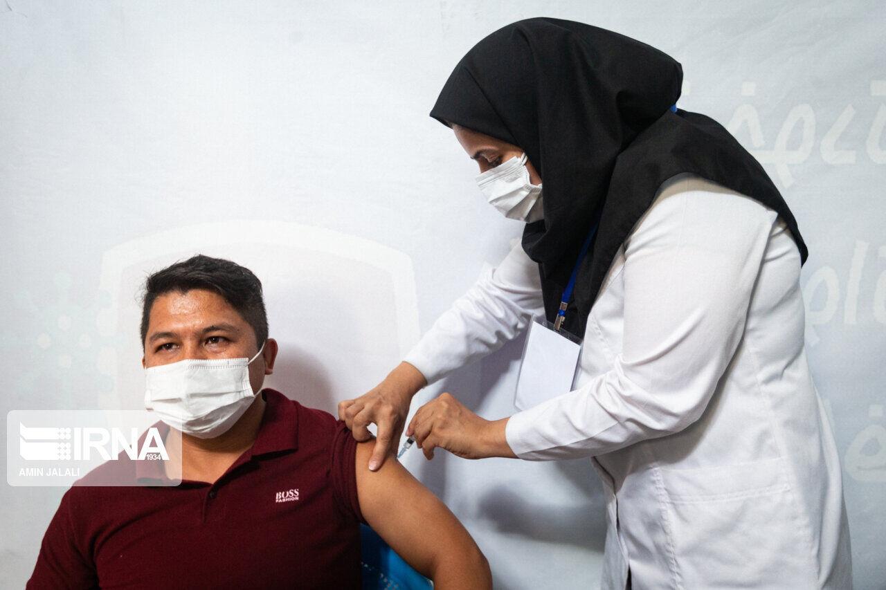 ۳۹.۱ درصد گلستانیها ۲ نوبت واکسن کرونا را دریافت کردند