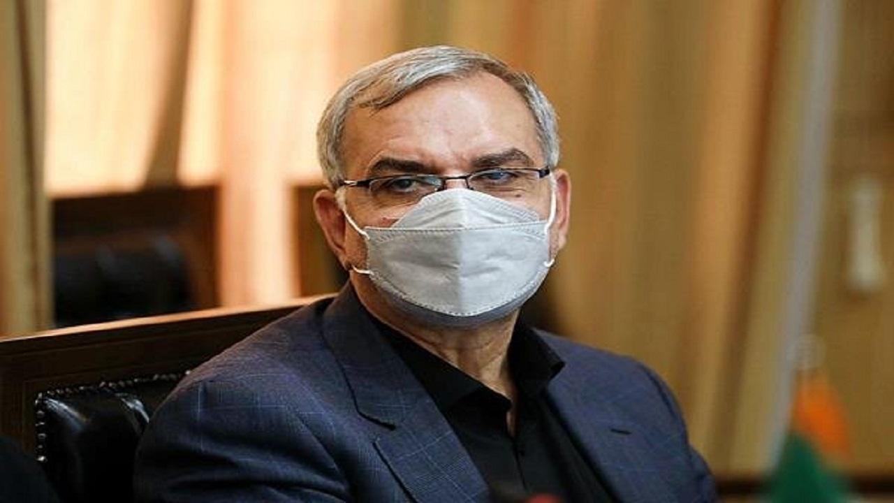 وزیر بهداشت: ٧۶ درصد جامعه دز اول واکسن را تزریق کردند
