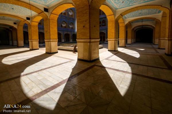 تصاویری از صحن حضرت زهرا(س) در حرم امیرالمؤمنین(ع)