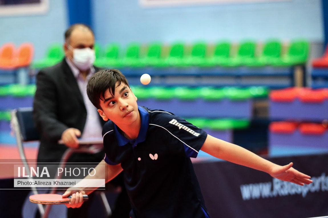 فینال مسابقات تنیس روی میز نوجوانان پسر