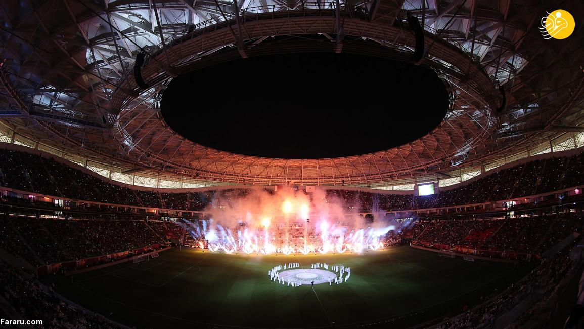 عکس/ افتتاح باشکوه پنجمین ورزشگاه جام جهانی قطر