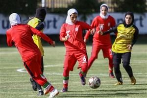 تدارکات ویژه برای نماینده فوتبال زنان ایران در آسیا