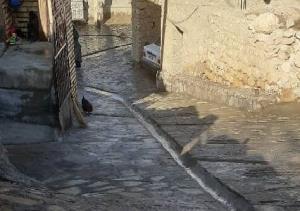 کفسازی بخشی از روستای تاریخی گلابر زنجان به پایان رسید