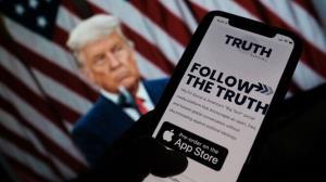 شبکه اجتماعی ترامپ به دزدی متهم شد