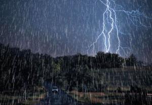 بارش پراکنده باران در ارتفاعات استان قزوین