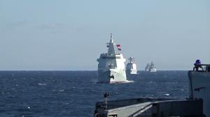 اولین گشت دریایی مشترک چین و روسیه در غرب اقیانوس آرام