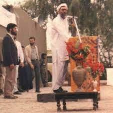عکس از رهبر انقلاب در لباس بلوچی