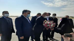 ورود وزیر کشور به فرودگاه ارومیه برای معارفه استاندار جدید آذربایجانغربی