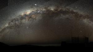 کهکشان راهشیری در حال بلعیدن یک کهکشان همنوعخوار است!