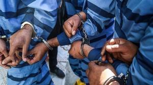 دستبند پلیس بر دستان سارقان ساختمانهای نیمهکاره