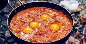 «املت قارچ و گوجه» ویژه برای صبحانه روز تعطیل