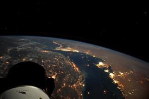 جدیدترین تصویر خلیج فارس از منظر ایستگاه فضایی بینالمللی