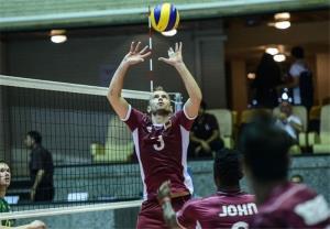 حمایت فدراسیون جهانی والیبال از تیم ملی قطر