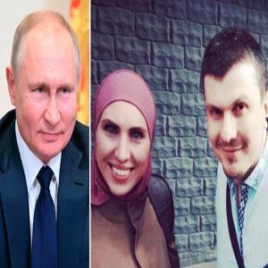 مردی که مدعی است پوتین همسرش را کشته و قصد ترورش را دارند!