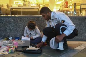 هدیه به سرباز خوش قلب؛ پلیس راهور اضافه خدمتش را بخشید