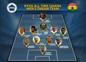 برلیانهای آفریقایی در تیم تاریخ سرزمین غنا