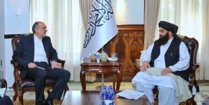 دیدار سفیر ایران و وزیر خارجه طالبان درباره مهاجران افغانستانی