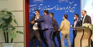 تنش در مراسم معارفه استاندار آذربایجان شرقی/ استاندار: میبخشم