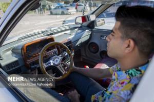عکس/ همایش خودروهای تیونینگ و اسپرت در ساری