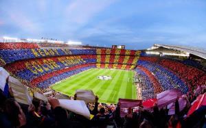 طرح موزاییکی بارسلونا برای الکلاسیکو