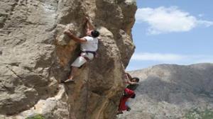کوهنوردان لردگانی تکنیکهای سنگنوردی طبیعی را آموختند