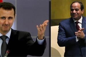 تلاشها برای برقراری تماس تلفنی مستقیم میان «اسد» و «سیسی»
