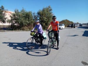 حامیان فوک خزری پس از ۵۰۰ کیلومتر دوچرخهسواری به گلستان رسیدند