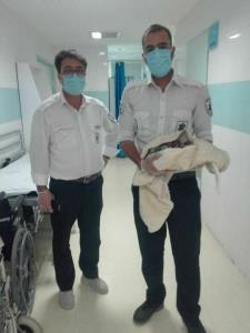 تولد نوزاد عجول در آمبولانس اورژانس خمینیشهر
