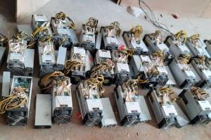 کشف ۲۴ دستگاه بیتکوین از پژو ۴۰۵ در گچساران