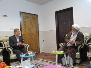 استاندار خوزستان با آیتالله کعبی دیدار و گفتوگو کرد