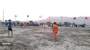 افتتاح اولین ورزشگاه ساحلی جنوب استان کرمان در عنبرآباد