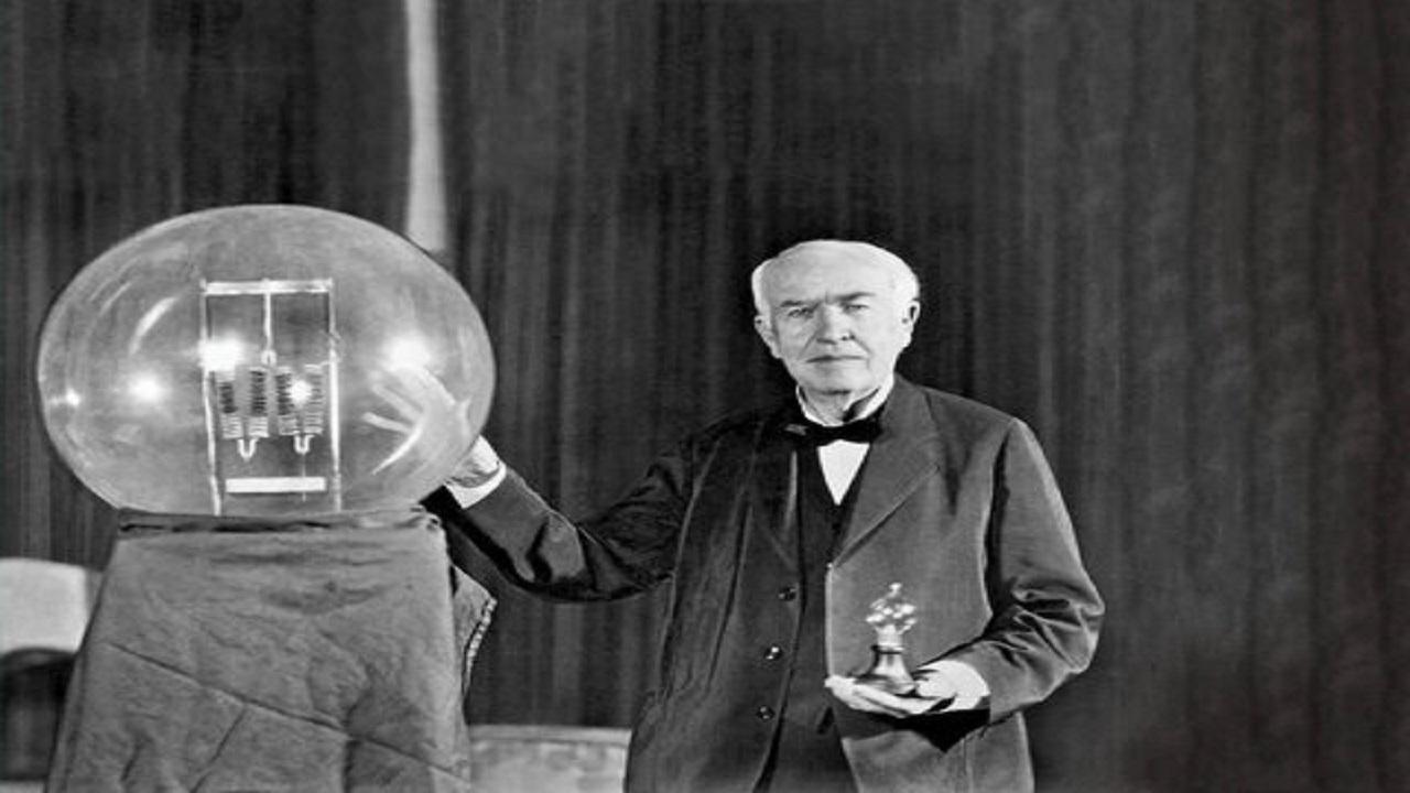 یک ویدیو جالب از ادیسون و نظرش درباره تئوری انیشتین